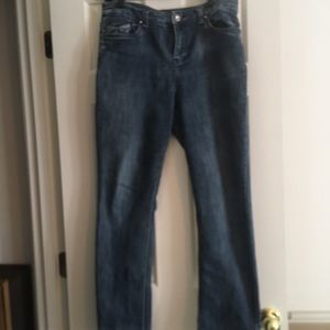Christopher and Banks size 8 jeans.